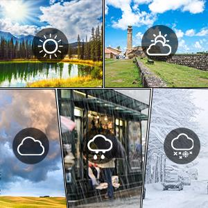 5 Weather Forecast Modes