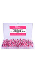 200pcs solder seal wire connectors 22-18 AWG red