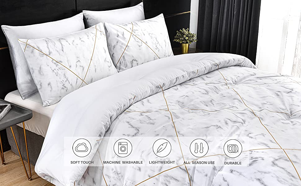White Marble Pattern Design