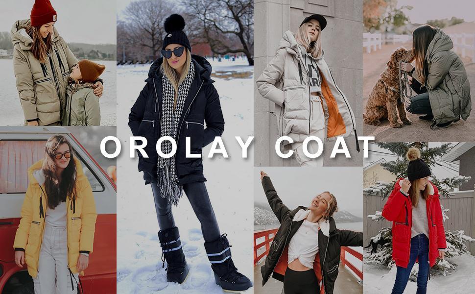Orolay coat