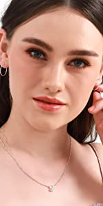 Sterling Silver Thin Lightweight Small Round Tube Hoop Earrings