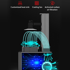Duale Kühlsysteme, effiziente Kühlung und Filtration