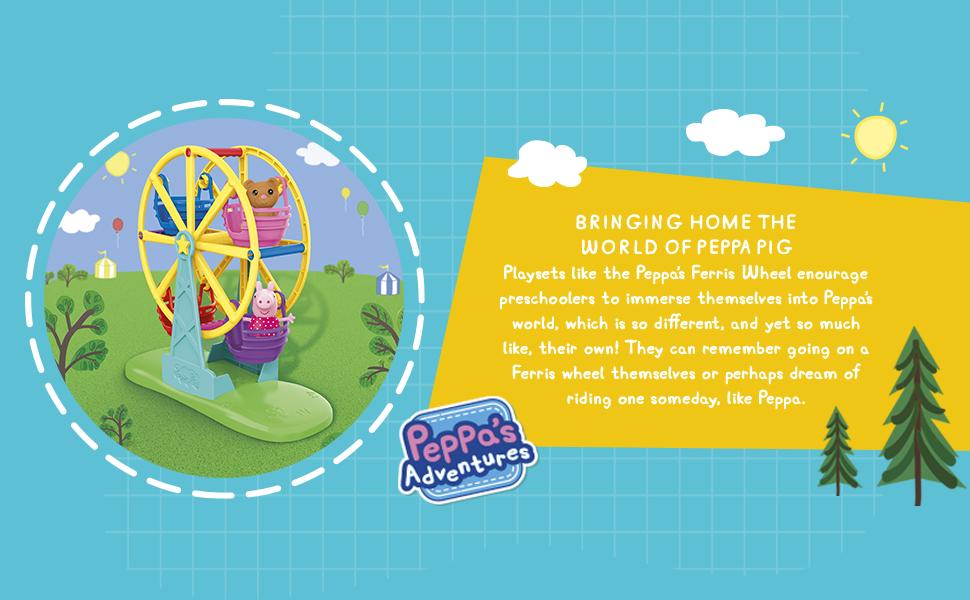 Peppa Pig Ferris Wheel Playset