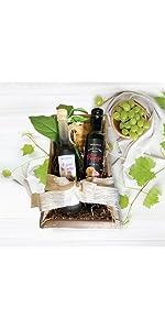 Charmed By Flavor Vervana Flavored Olive Oil and Balsamic Vinegar Gift Set