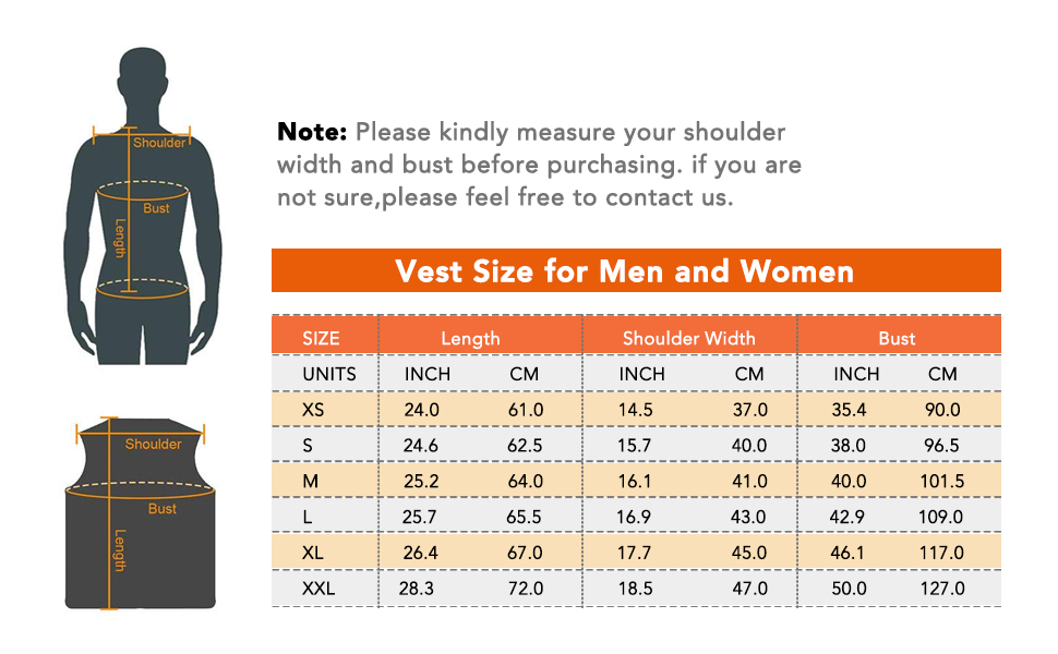 Electric Warm Vest for Hiking