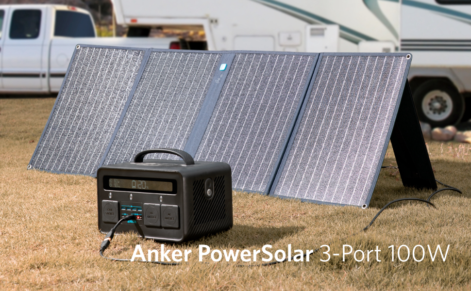 Anker PowerSolar 3-Port 100W