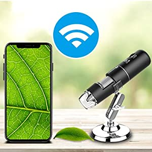 Digital microscope Compatible with iPhone, iPad