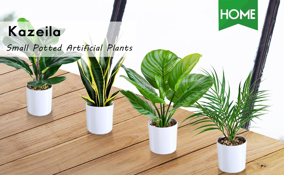 small artificial plants