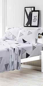 White Black Color Sheetsamp;amp; amp;amp; Pillowcases