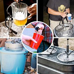 beer party pump Sankey D System Beer Keg Tap
