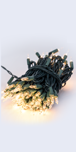 Christmas 100 LED String Lights  for Christmas,Patio,Holiday,Party,Home,Indoor Outdoor Decoration