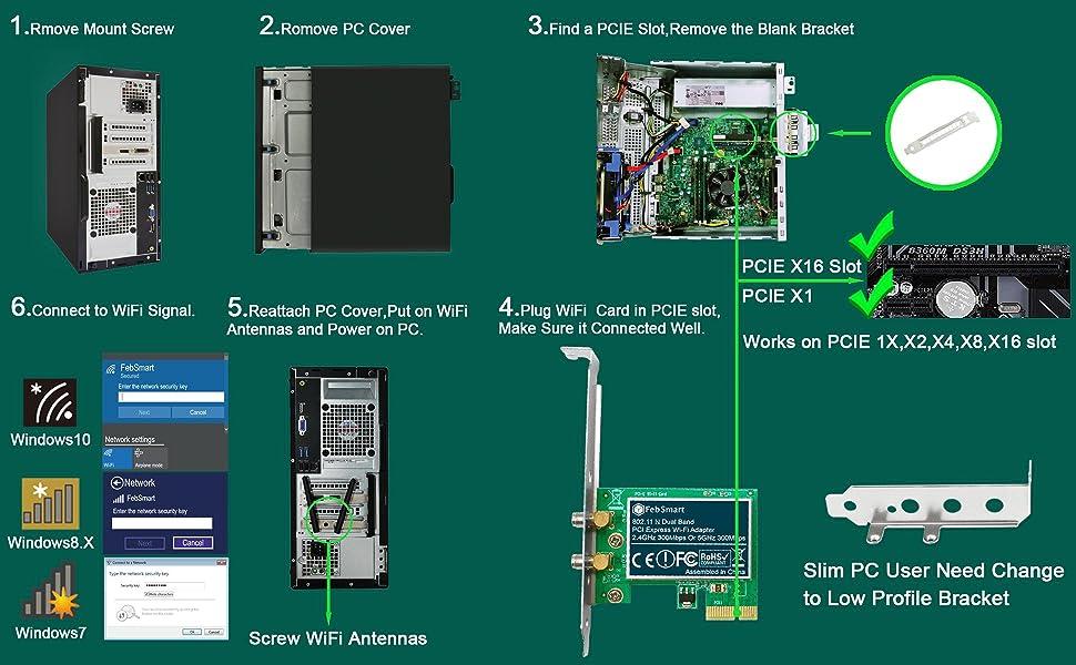 pcie wifi card pcie wifi adapter