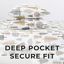 deep pocket, secure fit