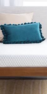linenspa 5 inch gel memeory foam mattress with cover