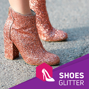 Glitter for shoes
