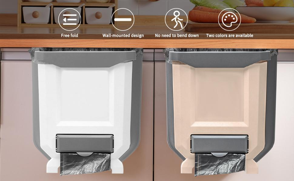 the best hanging kitchen trash cans
