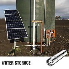 water tank filling