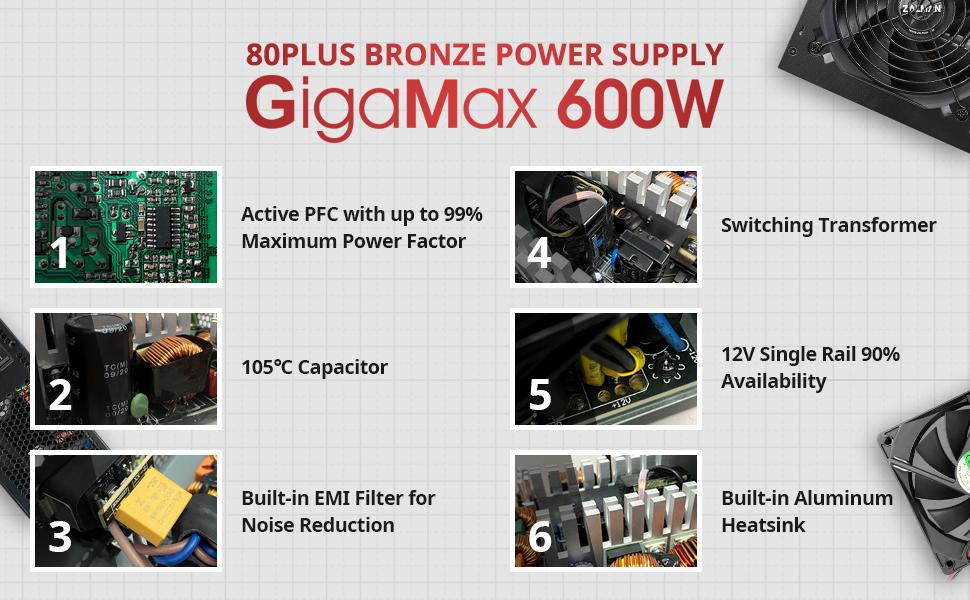 Zalman GigaMax 600W