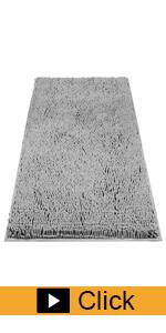 Chenille Bathroom Rugs