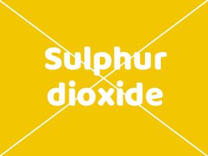 No preservatives or sulphur.