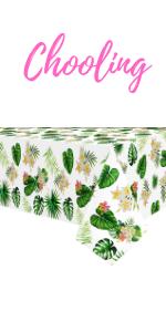 Hawaiian tablecloth