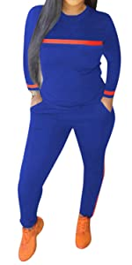 womens track suits 2 piece