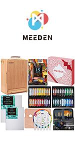 MEEDEN 70-Piece Premium Acrylic Painting Set