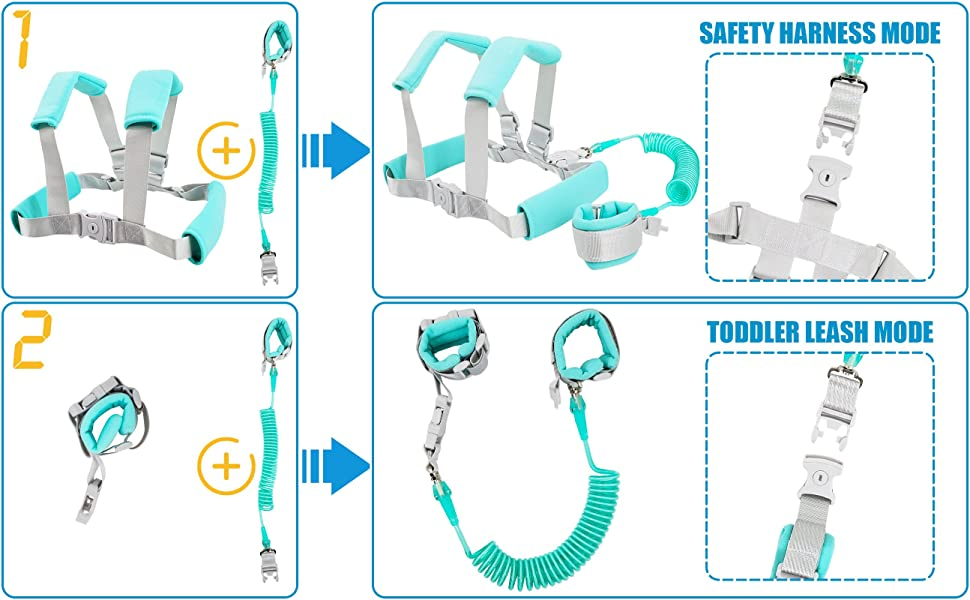 BBGM5 Toddler Safety Harnesses & Leashes