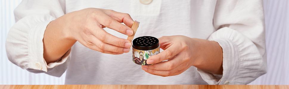 Aluminum Zinc Alloy Herb Grinder 4 Piece Large Size Grinder Combo Set
