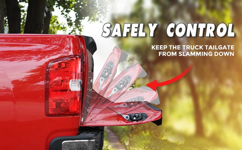 Truck tailgate assist