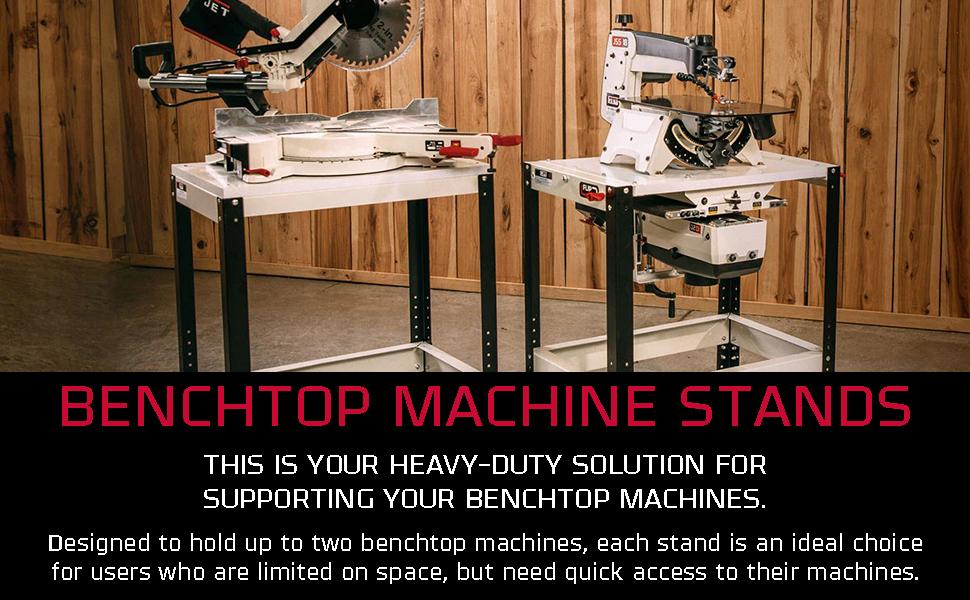 benchtop machine stands