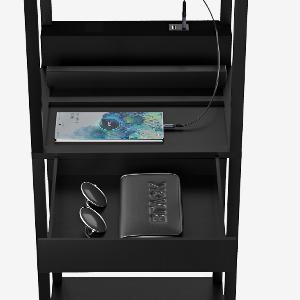 2 ports USB de chargement et 1 tiroir