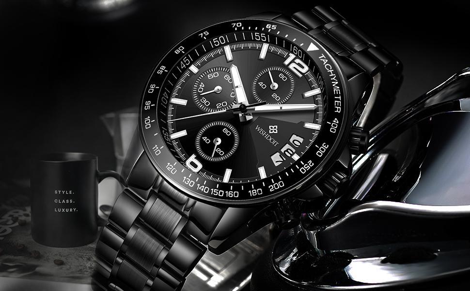 Multifunctional Men's Watch Luminous Waterproof