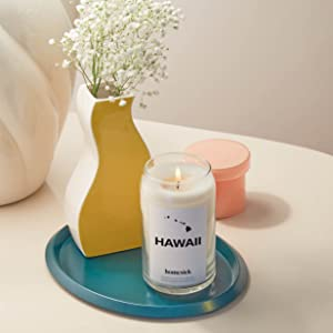 Homesick Hawaii State Candle