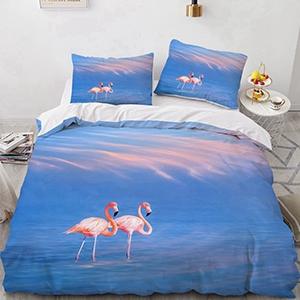 Flamingo Bedding Set Size Description