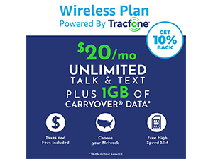 wireless plan brought to you by amazon