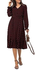 women long sleeve dress