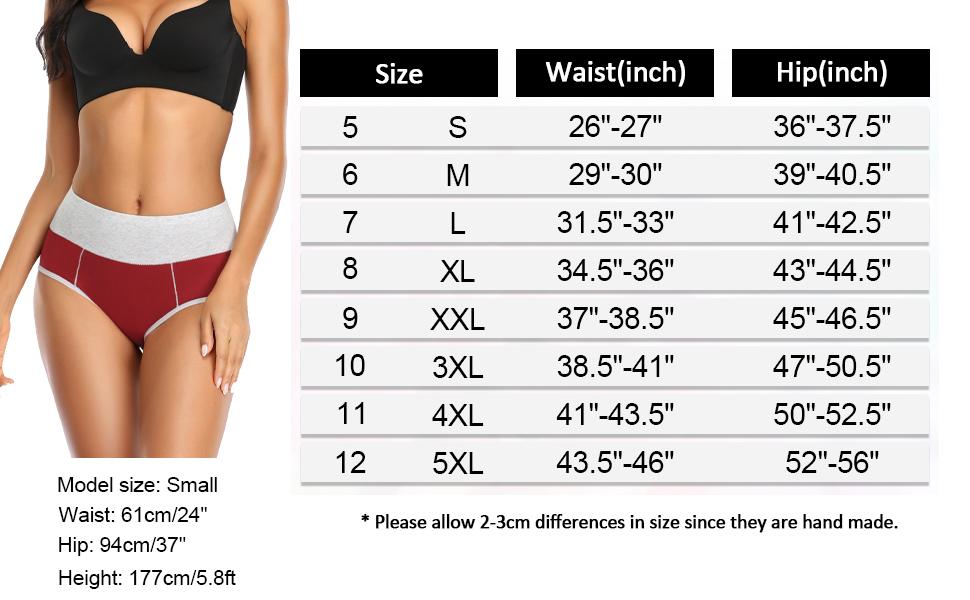 ladies plus size underwear cotton briefs stretchy high rise undies lounge underwear women
