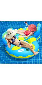 Double Pool Floats