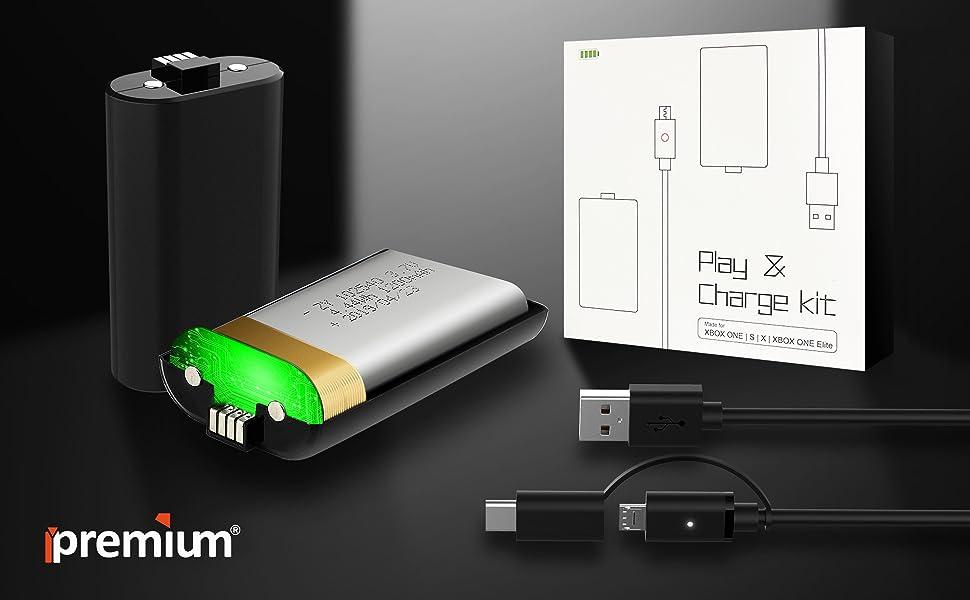 Xbox one battery pack ipremium logo