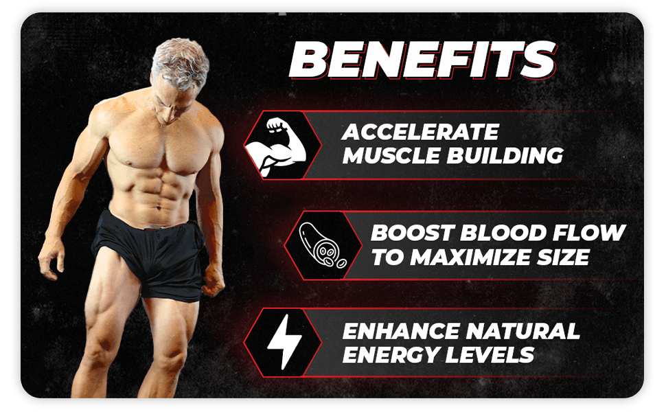 Benefits: Accelerate Muscle Building, Boost Blood Flow, and Enhance Energy Levels