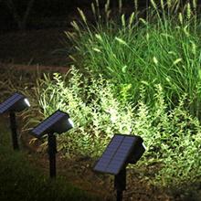 solar powered spot lights outdoor