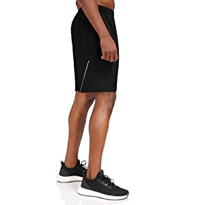 Men's Sports Shorts Quick Dry with Zip Pockets for Workout Running Training