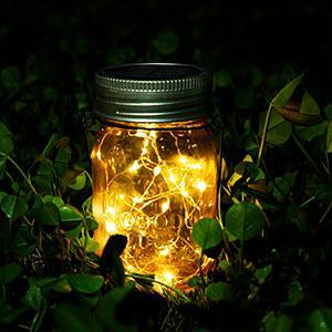 solar lights for mason jars