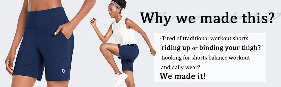 "womens 7"" bermuda shorts"