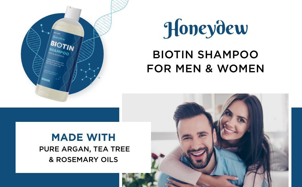 Biotin Shampoo For Men & Women