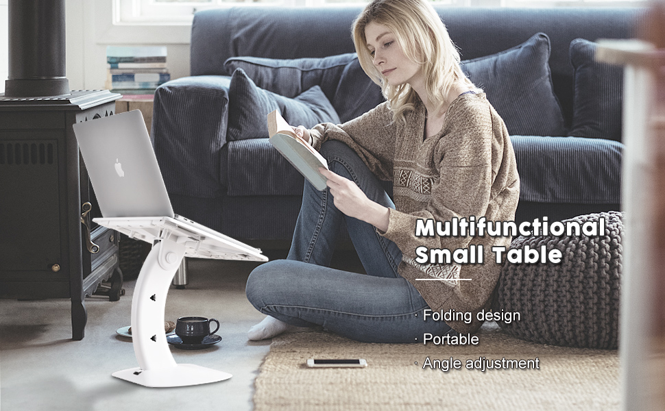 Multifunctional small table amp; bed tray table