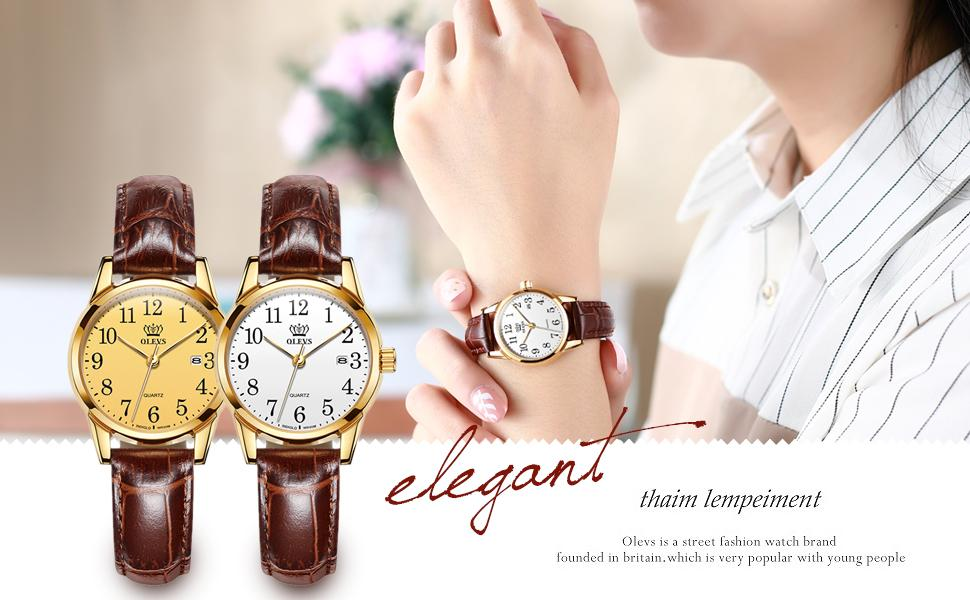 business ladies luxury dress classic fashion simple small dial watch for women on sale clearance