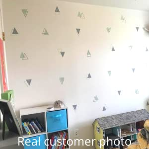 Play room decorated tribal triangle vinyl wall decals