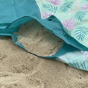 large lightweight beach mat